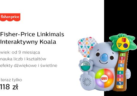 Fisher-Price Linkimals Interaktywny Koala