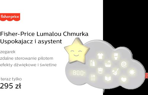 Fisher-Price Lumalou Chmurka Uspokajacz i asystent