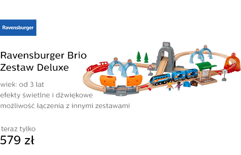 Ravensburger Brio Zestaw Deluxe
