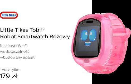 Little Tikes Tobi™ Robot Smartwatch Różowy