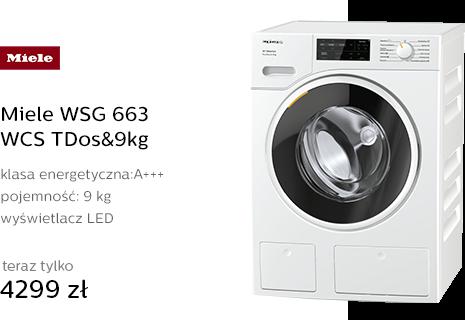 Miele WSG 663 WCS TDos&9kg