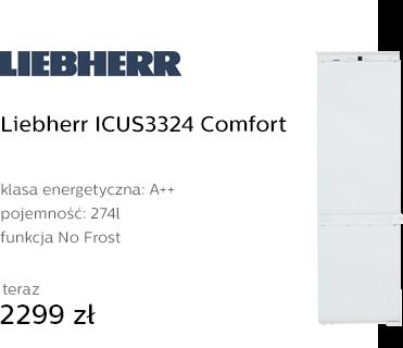 Liebherr ICUS3324 Comfort