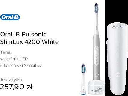 Oral-B Pulsonic SlimLux 4200 White