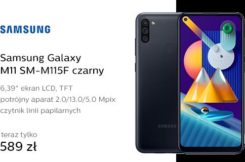 Samsung Galaxy M11 SM-M115F czarny