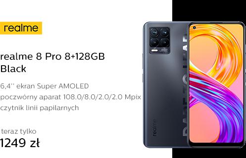 realme 8 Pro 8+128GB Black