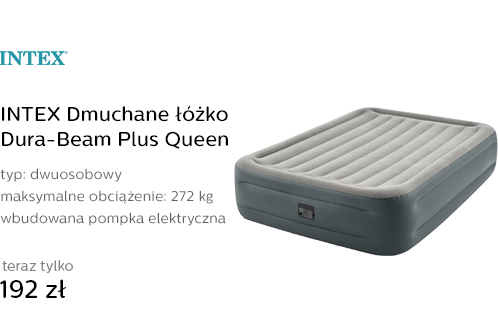 INTEX Dmuchane łóżko Dura-Beam Plus Queen