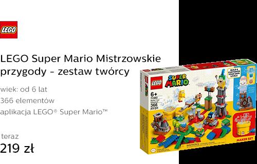 LEGO Super Mario Mistrzowskie przygody - zestaw tw