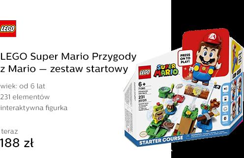 LEGO Super Mario Przygody z Mario — zestaw startow