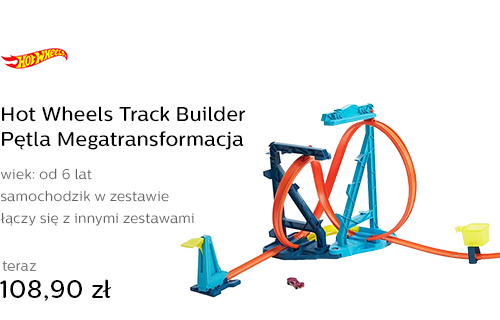 Hot Wheels Track Builder Pętla Megatransformacja