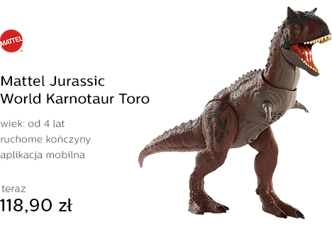 Mattel Jurassic World Karnotaur Toro