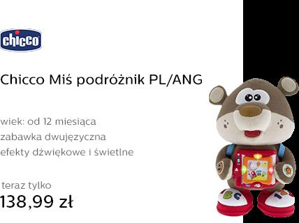 Chicco Miś podróżnik PL/ANG