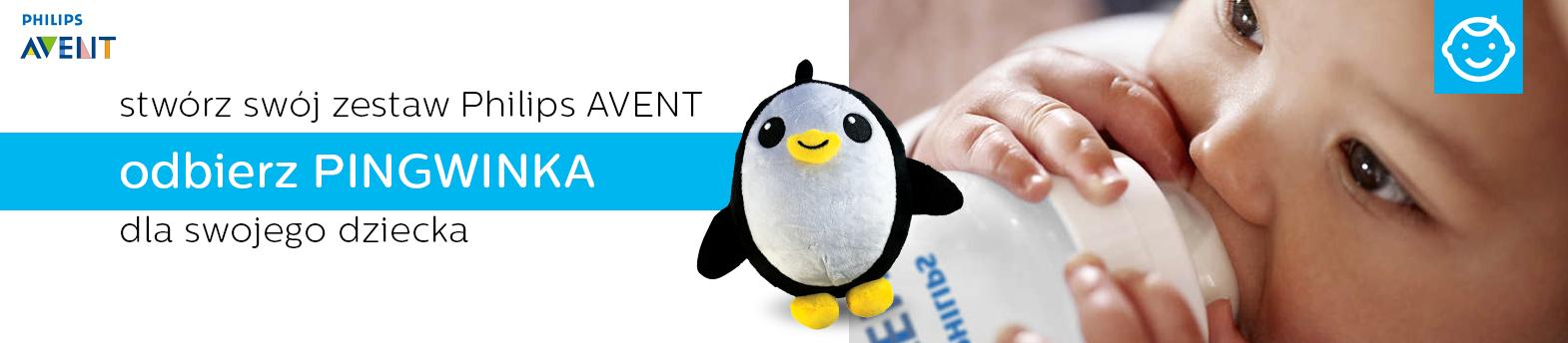 Avent - pingwinek gratis