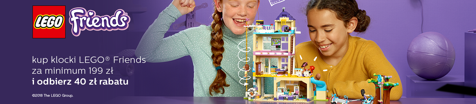 LEGO® Friends - 40 zł