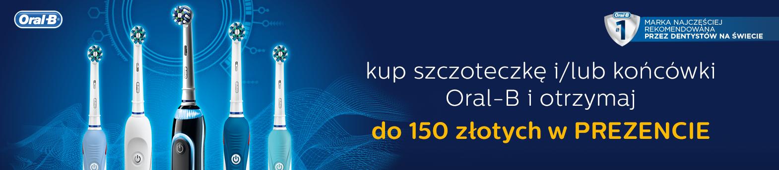 Oral-B - odbierz 150 zł