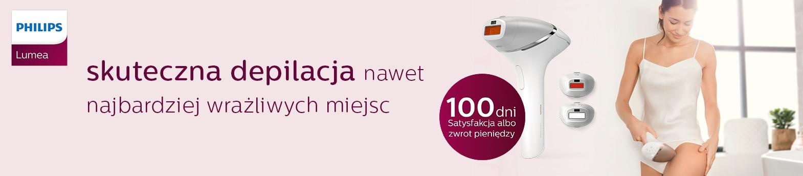 Philips Lumea - 100 dni na zwrot