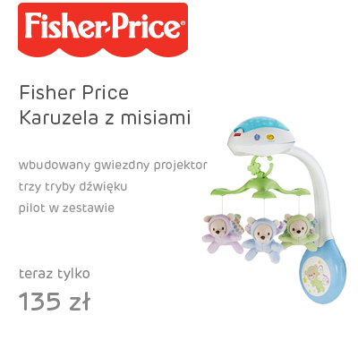 Fisher Price Karuzela z misiami