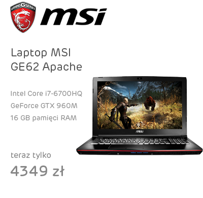 MSI Apache GE62
