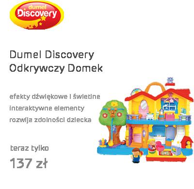 Dumel Discovery Odkrywczy Domek