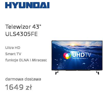 """Telewizor 43"""" Hyundai ULS4305FE"""