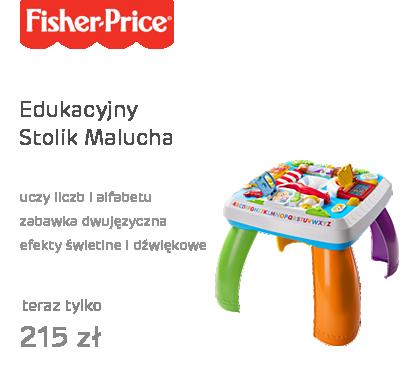 Navbar - Fisher Price Edukacyjny Stolik Malucha