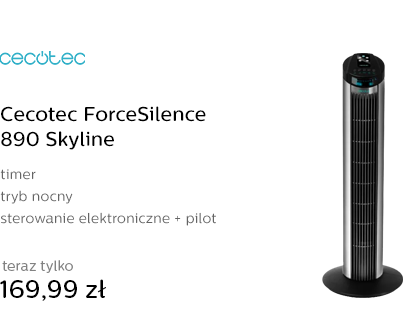 Cecotec ForceSilence 890 Skyline