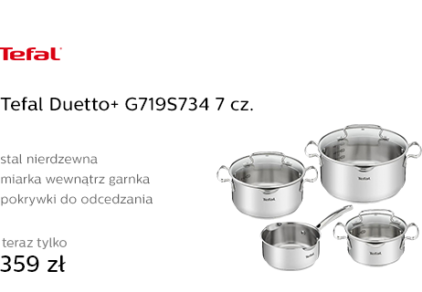 Tefal Duetto+ G719S734 7 cz.