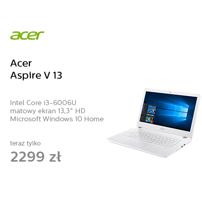 Acer Aspire V 13 i3-6006U/8GB/1000/Win10