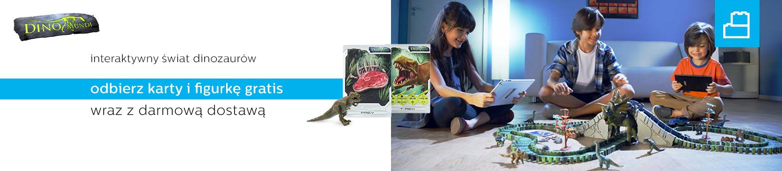 Dino Mundi karty i dostawa gratis