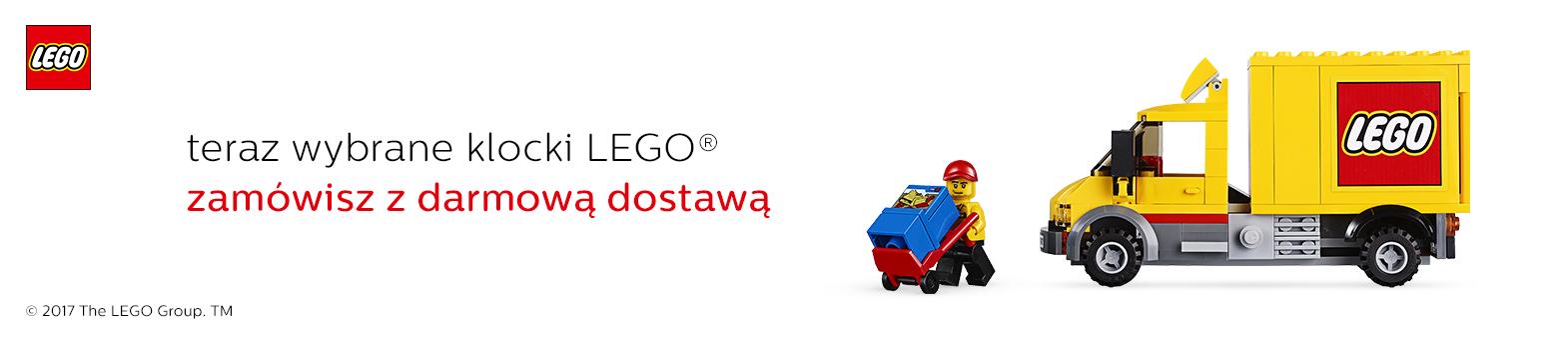 LEGO darmowa dostawa