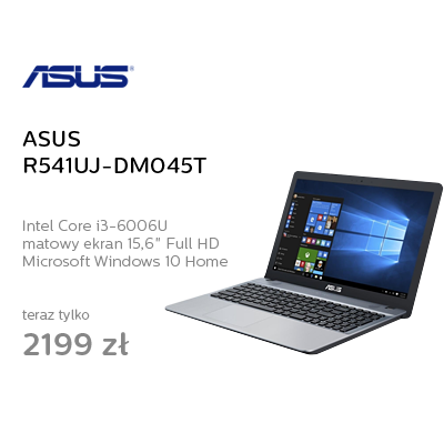 ASUS R541UJ-DM045T i3-6006U/4GB/1TB/DVD/Win10 GF920