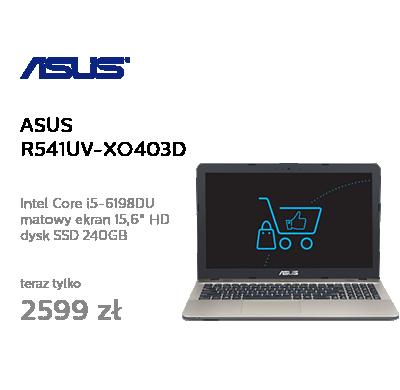 ASUS R541UV-XO403D-8 i5-6198DU/8GB/240SSD/DVD GT920MX