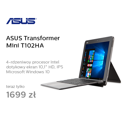 ASUS Transformer Mini T102HA x5-Z8350/4GB/64/W10 Stylus