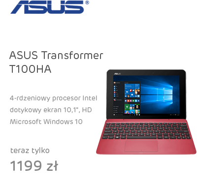 ASUS Transformer T100HA x5-Z8500/2GB/64/Win10
