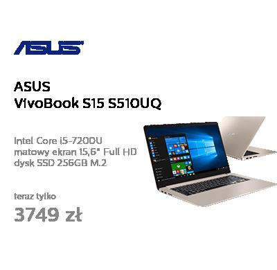 ASUS VivoBook S15 S510UQ i5-7200U/8GB/256SSD+1TB/Win10