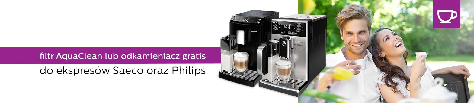 Saeco & Philips - filtr gratis