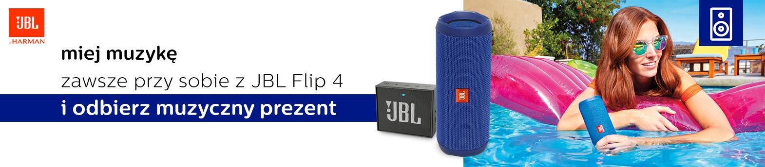 poznaj JBL Flip 4 i otrzymaj gratis