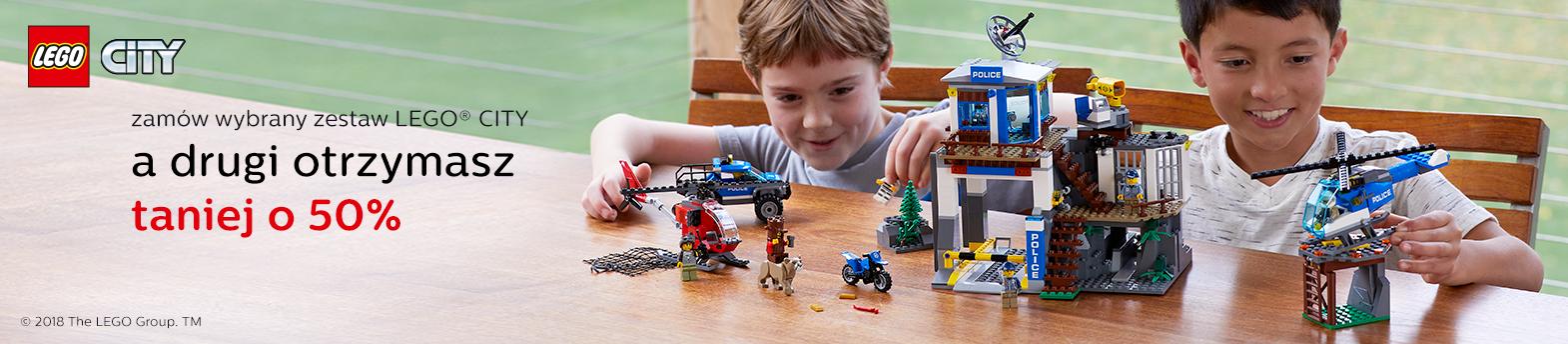LEGO® City -50% na drugi zestaw