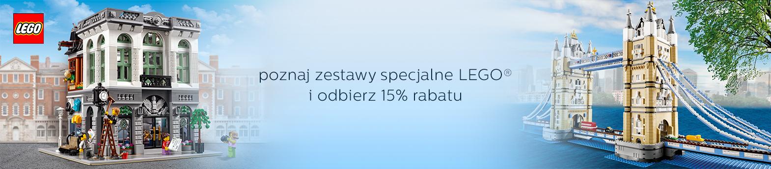 LEGO® zestawy - 15%