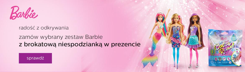 Barbie z prezentem