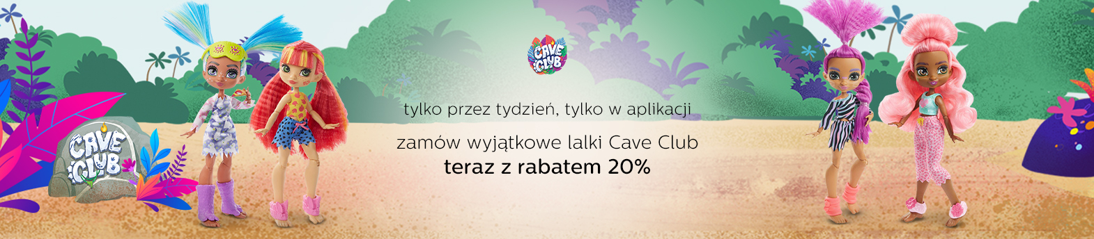 Cave Club -20% w aplikacji
