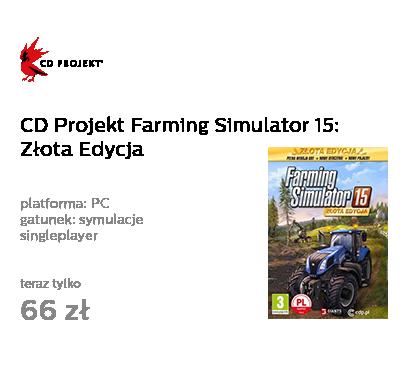 CD Projekt Farming Simulator 15: Złota Edycja