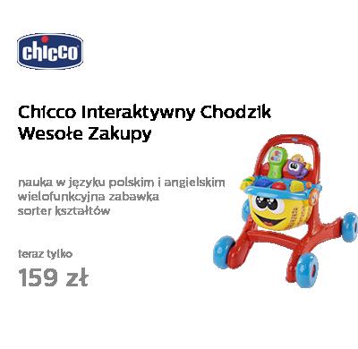 Chicco Interaktywny Chodzik Wesołe Zakupy