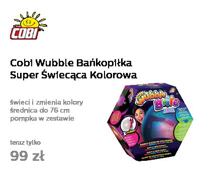 Cobi Wubble Bańkopiłka Super Świecąca Kolorowa