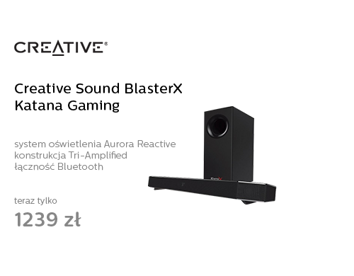 Creative Sound BlasterX Katana Gaming