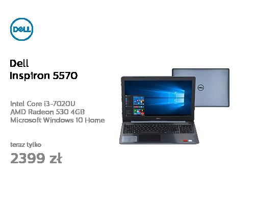 Dell Inspiron 5570 i3-6006U/8G/256/Win10 FHD biały