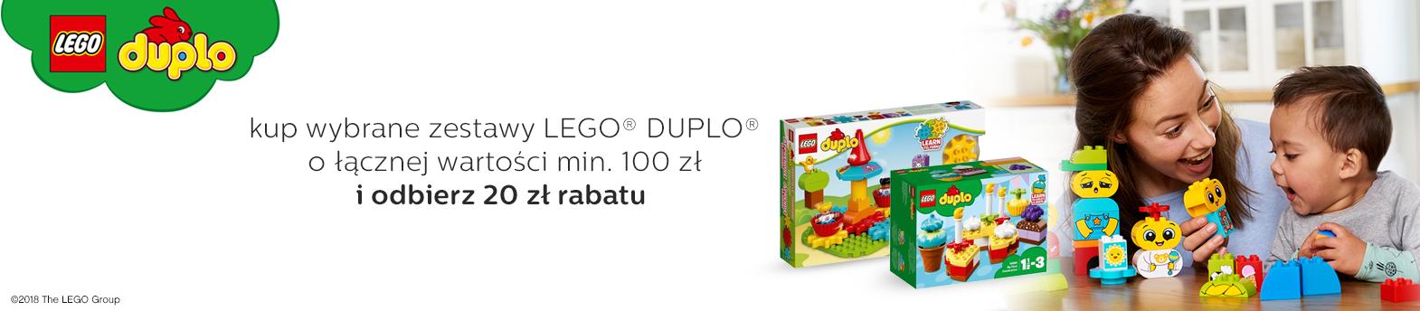 LEGO DUPLO 20zł do 100zł - kategoria