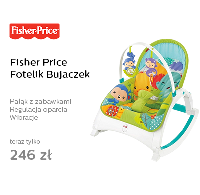 Fisher Price Fotelik Bujaczek