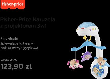 Fisher-Price Karuzela z projektorem 3w1