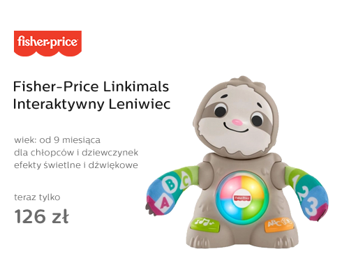 Fisher-Price Linkimals Interaktywny Leniwiec