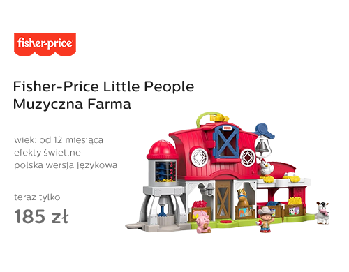 Fisher-Price Little People Muzyczna Farma